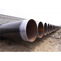 Wholesale API 5L Cement Mortar Lined Anticorrosion SSAW/LSAW Steel Pipe for Water transport from china suppliers