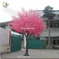 Wholesale UVG CHR117 buy cherry blossom tree with artificial flowers from china manufactory 6m tall from china suppliers
