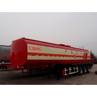 China optional dimension 14 ton axle tire 5mm tank body fuel oil tanker trailer on sale
