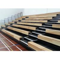 Electric Control Retractable Grandstands For Stadium Hall / Indoor Arena