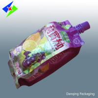 Wholesale customized stand up pouch with spout, foil stand up pouch,doypack pouch for milk from china suppliers