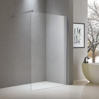 Buy cheap Walk-in aluminium shower screen 1200*2000mm with top fixed bar from wholesalers