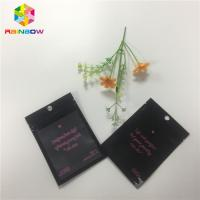 Buy cheap Heat Sealed Foil Packaging Bags Custom Printing One Side Clear Transparent from wholesalers