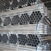 China 50mm pre galvanized steel pipe gi pipe made in China market exporter mill factory on sale