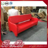 China Waiting area seating cheap waiting room bench chairs barber shop waiting benches 3-seater on sale