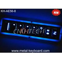 Wholesale Led Backlit Metal Keypad 8 Large Matrix Keys In Indoor Or Outdoor Conditions from china suppliers