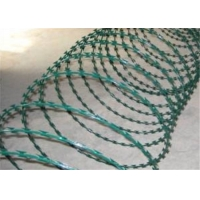 Wholesale Cbt 65 Protection Coil 700mm Galvanized Razor Barbed Wire from china suppliers