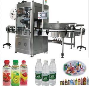China Professional Auto Shrink Wrap Machine / Shrink Sleeve Label Machine on sale