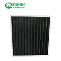 Wholesale Eradicate Odor Synthetic Fiber Filter , Mini - Pleat Activated Carbon Filters from china suppliers
