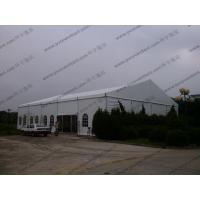 Quality Customized Width Aluminum Frame and PVC White Cear Span Badmintion Tents for Outside Sport Events for sale