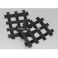 Wholesale Warp Knitted Polyester PET Biaxial Uniaxial Geogrids For Road Construction from china suppliers