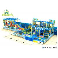 Giant Toddler / Baby Indoor Playground Anti - Crack With Galvanized Steel Pipe