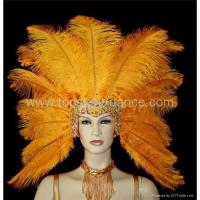 Wholesale Carnival Headdress, Feather hat from china suppliers