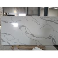 Wholesale Calacatta Gold Quartz Bathroom Vanity Tops For Hotel 2.5g / Cm3 Density from china suppliers