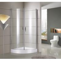 Wholesale round / sector Corner Shower Enclosures Tempered  glass Material Magnet lock strip from china suppliers