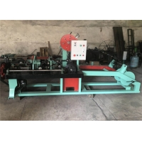Wholesale 3KW Reverse Twist Fully Automatic Barbed Wire Machine from china suppliers