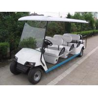 China Top Quality Street Legal Golf Carts 8 Seats Restaurant Hotel Electric Golf Cart Used For Sightseeing on sale