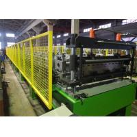 China Decking Panel Floor Deck Roll Forming Machine / Building Sheet Metal Roll Former on sale