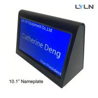 China 5V Smart Digital Nameplate , Desktop Name Plate 1024 X 600 Resolution Ratio on sale