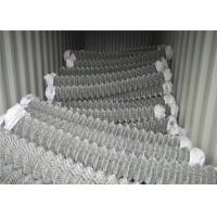 Wholesale 3.0mm Wire Pvc Coated Chain Link Fencing Sports Ground Protection from china suppliers