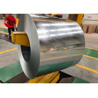China Building Materials SGCC GI Steel Sheets / Hot Dipped GI Steel Rolls Smooth Surface on sale