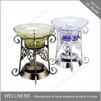 China Non Electric Scented Oil Burner , Metal Essential Oil Burner Common Packaging on sale