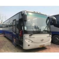 China 12m Length Promotion Bus Daewoo Bus With 51Seats Double Back Axle Right Hand Drive on sale