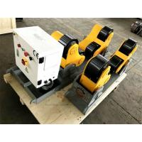 Buy cheap Pipe Self Aligned Welding Rotator Roller 5000kg Driving and Idler Unit from wholesalers