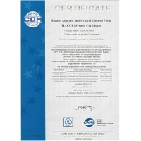 Henan Wheat Import And Export Company Limited Certifications