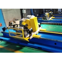 Wholesale 114  HSS and TCT servo motor control galvanized steel pipe cold cut flying saw machine from china suppliers