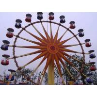 Wholesale Flower Cabins Design Amusement Park Ferris Wheel Driven By Electric Control System from china suppliers