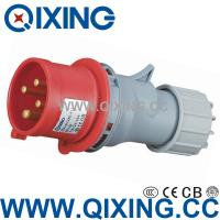 Wholesale industrial plug economic type 230V 32A IP44 QX-264 from china suppliers