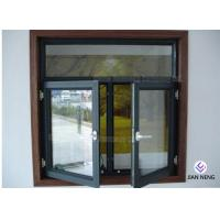 Wholesale Tempered Safety Glass Aluminum Casement Windows , Powder Coating Finished from china suppliers