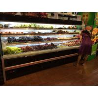 Wholesale Black Open Counter Display Fridge For Fruits Self Contained Cooling from china suppliers