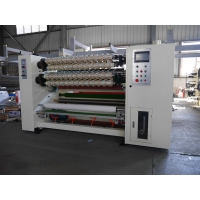 Buy cheap Professional Crystal Tape BOPP Cello Tape Slitting Machine from wholesalers