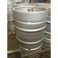 Buy cheap 50L Euro keg for micro brewery with G type fitting on top,made of Stainless from wholesalers