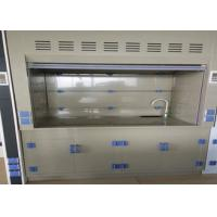 Wholesale Customized Laboratory PP Fume Hood Anti Corrosion PP Blower Grey White Appearance from china suppliers