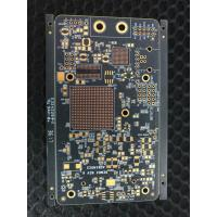 1.6mm Thickness Double Sided PCB 6 OZ FR4 Laminate With Black Solder Mask