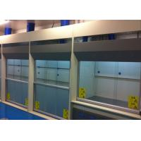 China Biological Safety Exhaust Fume Hood , 1300mm Max Opening Chemical Fume Hood on sale
