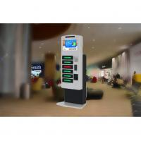 Buy cheap High Security Fast Charging Cell Phone Charging Stations Accept Peso Coins And from wholesalers