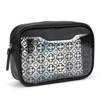 China Waterproof Travel Toiletry Bag Transparent PVC Clear Pouch Makeup Bag on sale