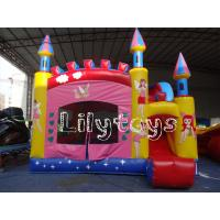 Wholesale Home Park PVC Inflatable Party combo For Kids Birthday , fireproof tarpaulin from china suppliers