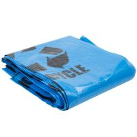 """Wholesale Gravure Printing Plastic Garbage Bags 40"""" X 46"""" Blue Tint Linear Low Density from china suppliers"""
