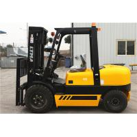 Wholesale 4 Tonne Four Wheel Drive Forklift , Double Mast Forklift With Fork Positoner from china suppliers