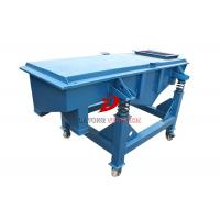 Wholesale Industrial Linear Vibrating Screen Machine , Dry Sand Screening Equipment from china suppliers