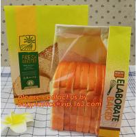 Wholesale gift paper bag handle paper bag greaseproof paper bag bakery packaging delicatessen confectionery,wholefoods flour/sugar from china suppliers