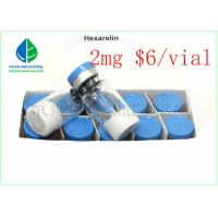 Buy cheap HEX CAS 140703-51-1 Human Growth Hormone Peptide Muscle Building Hexarelin from wholesalers