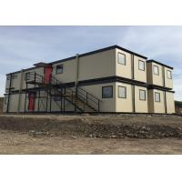 Buy cheap Modular Flat Pack Modified Container House With Ladders Two Storey Building With from wholesalers