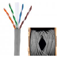 Wholesale PVC LSZH Cat5e Outdoor Waterproof Ethernet Cable 24AWG Bare Copper Pass Fluke Test from china suppliers