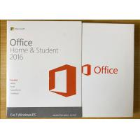 Wholesale Sealed Box Ms Office 2016 Home Product Key , Microsoft 2016 License Key For 1 PC from china suppliers